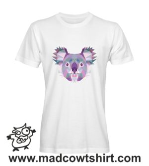 006 koala tshirt bianca uomo