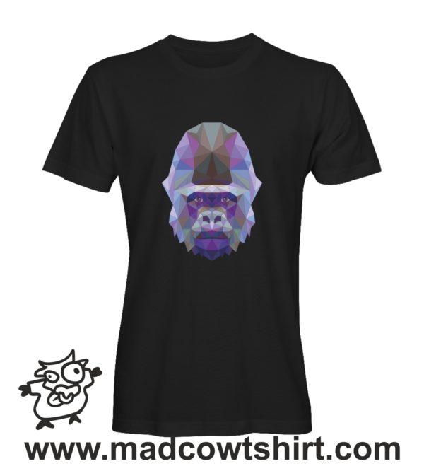 007 gorilla tshirt nera uomo