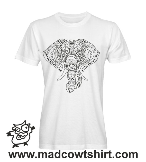 000015 Elefante Tshirt Uomo Donna Bambino 3