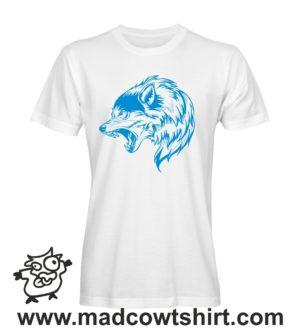 016 lupo2 tshirt bianca uomo
