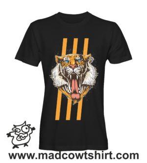 019 tigre3 tshirt nera uomo