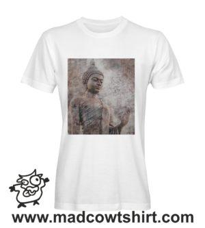 042 tre buddha tshirt bianca uomo