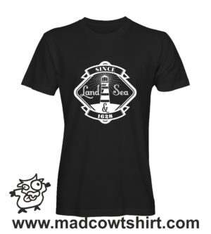 047 faro tshirt nera uomo