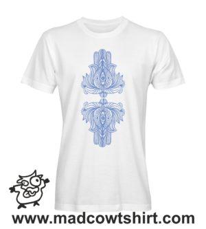 064 fatima tshirt bianca uomo