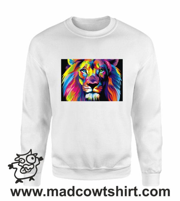 000117 lion art Unisex Sweatshirt or Hoodie 2