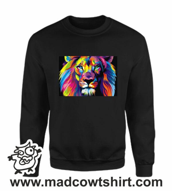 000117 lion art Unisex Sweatshirt or Hoodie 3