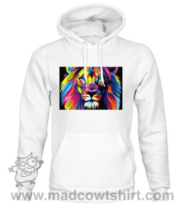 000117 lion art Unisex Sweatshirt or Hoodie 4
