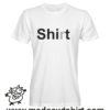 0159 shirt tshirt bianca uomo