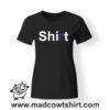 0159 shirt tshirt nera donna