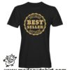 0160 best seller tshirt nera uomo
