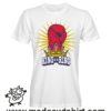 0163 king of the ring tshirt bianca uomo