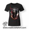 0170 skull queen tshirt nera donna