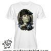 0171 benjamin franklin gangsta tshirt bianca uomo