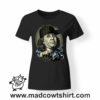0171 benjamin franklin gangsta tshirt nera donna