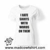 0172 hate shirt tshirt bianca donna