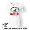0174 danger shark tshirt bianca donna