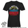 0174 danger shark tshirt nera uomo