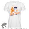 0175 surf rider tshirt bianca uomo