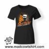 0175 surf rider tshirt nera donna