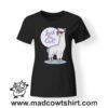 0179 cool alpaca tshirt nera donna