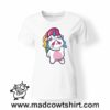 0182 cry unicorn tshirt bianca donna