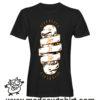 0186 live skate tshirt nera uomo