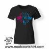 0187 carpe diem tshirt nera donna