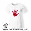 0194 blood hand tshirt bianca donna