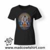 0196 shiva tshirt nera donna