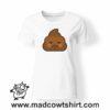 000197 angry poop T-shirt Uomo Donna Bambino 7