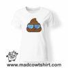 0198 cool poop tshirt bianca donna