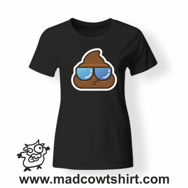 000198 cool poop T-shirt Man Woman Child 4