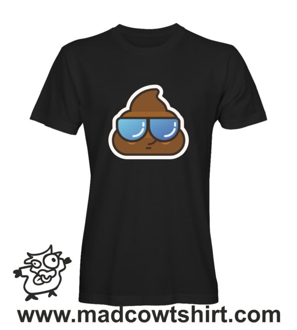 000198 cool poop T-shirt Man Woman Child 2