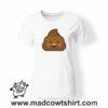 0199 happy poop tshirt bianca donna