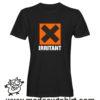 0204 irritant tshirt nera uomo
