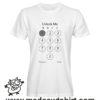 0205 unblock tshirt bianca uomo