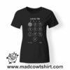 0205 unblock tshirt nera donna