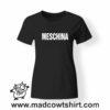 0206 meschino tshirt nera donna