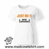 0207 just do it tshirt bianca donna