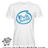 0209 evil inside tshirt bianca uomo
