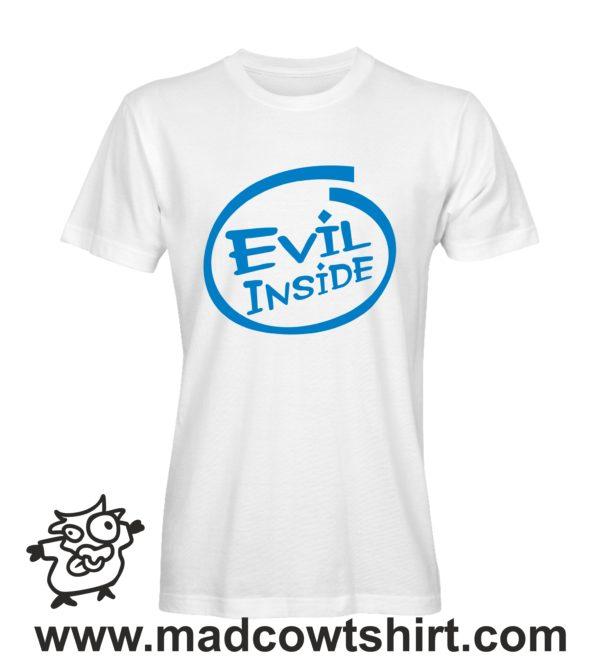 000209 evil inside T-shirt Man Woman Child 2