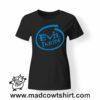 0209 evil inside tshirt nera donna