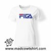 0210 figa tshirt bianca donna