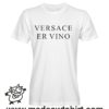 0211 versace er vino tshirt bianca uomo