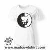 0214 pitbull tshirt bianca donna