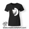 0214 pitbull tshirt nera donna