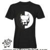 0214 pitbull tshirt nera uomo