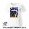 0216 FORTNITE tshirt bianca donna