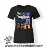 0216 FORTNITE tshirt nera donna