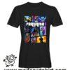 0216 FORTNITE tshirt nera uomo